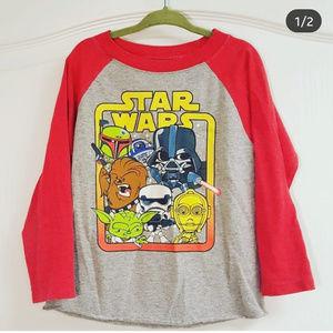 Star Wars Baseball T